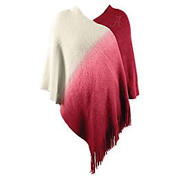 University of Alabama Dip Dye Poncho