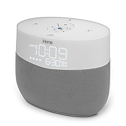 iHome Google Assistant Voice Activated Speaker in White