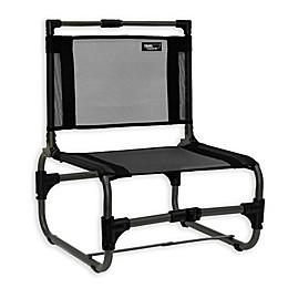 TravelChair® Company Larry Aluminum Folding Beach Chair in Black