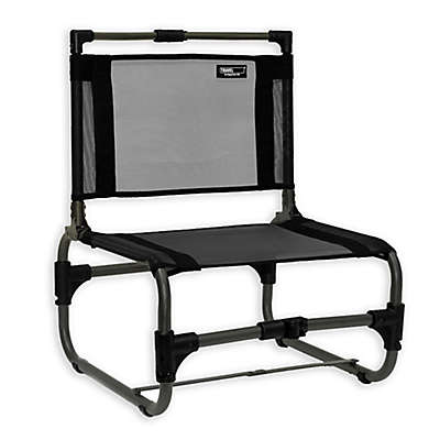 TravelChair® Company Larry Aluminum Folding Beach Chair in Black