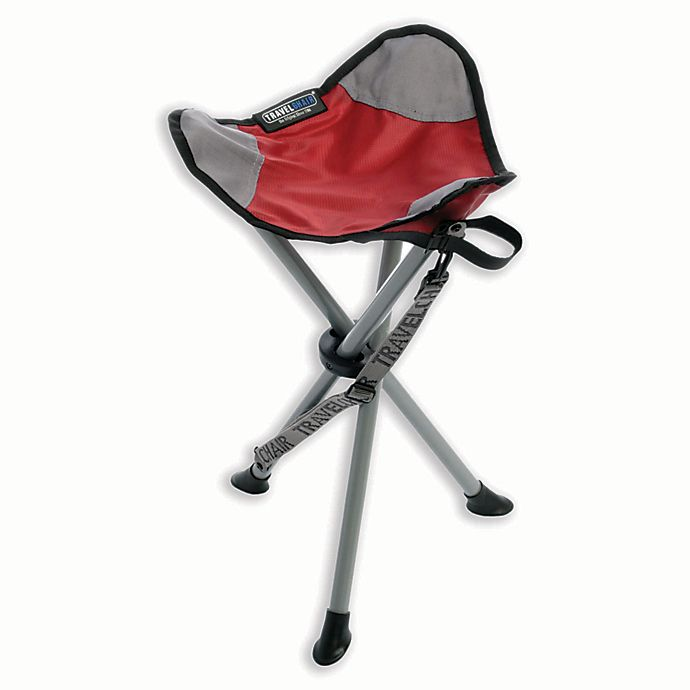 Miraculous Travelchair Company Tripod Slacker Folding Stool Bed Bath Customarchery Wood Chair Design Ideas Customarcherynet