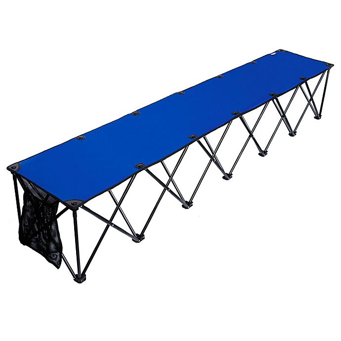 Alternate image 1 for TravelChair® Company TravelBench Original 6-Seat Folding Sideline Bench