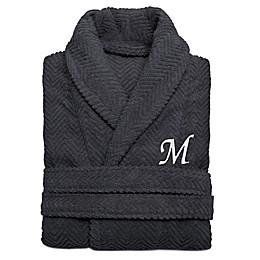 Linum Home Textiles Herringbone Turkish Cotton Unisex Bathrobe