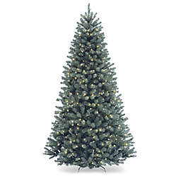 National Tree Company 7-Foot North Valley Spruce Artificial Christmas Tree with Clear Lights