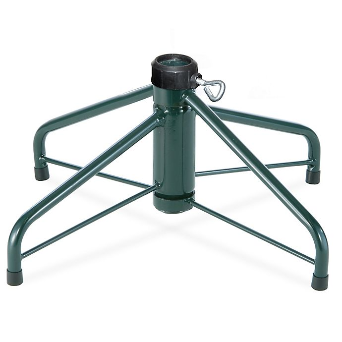 Alternate image 1 for National Tree 16-Inch Folding Metal Tree Stand in Green