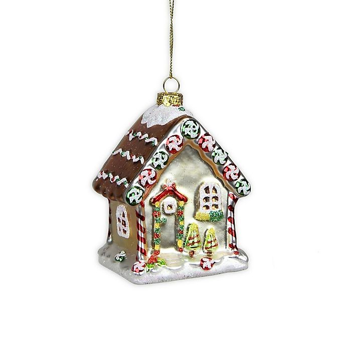 Alternate image 1 for Northlight® 3.75-Inch Gingerbread House Ornament