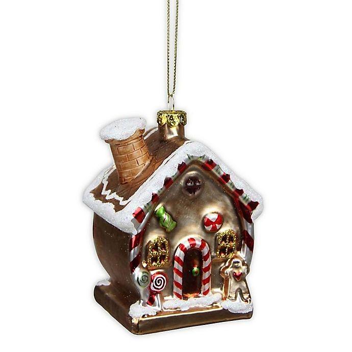 Alternate image 1 for Northlight Gingerbread House Christmas Ornament