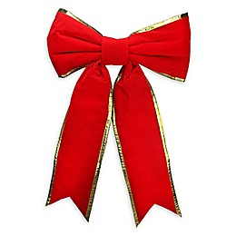 50-Inch Giant Commercial Bow in Red/Gold