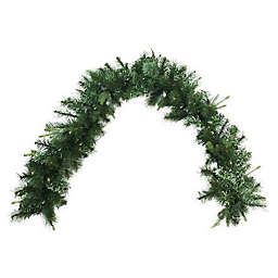 6-Foot Pre-Lit Cashmere Mixed Pine Garland