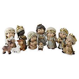 Northlight 11-Piece Nativity Scene