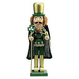 Northlight® 15-Inch Luck of the Irish Wood Nutcracker Statue