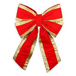 Dyno Holiday Bow in Red/Gold
