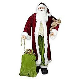 6-Foot Life-Size Santa Claus Figure