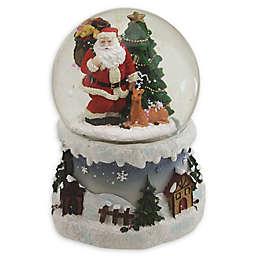 Northlight® 5.5-Inch Santa Claus Musical Snow Globe Glitterdome