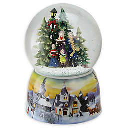 Northlight Christmas Carolers Musical Snow Globe