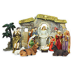 13-Piece Nativity Scene Set