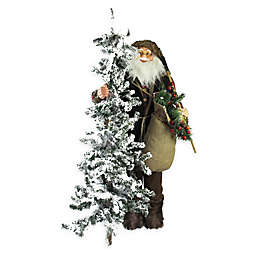 Northlight® 48-Inch Woodland Santa with Axe Statue