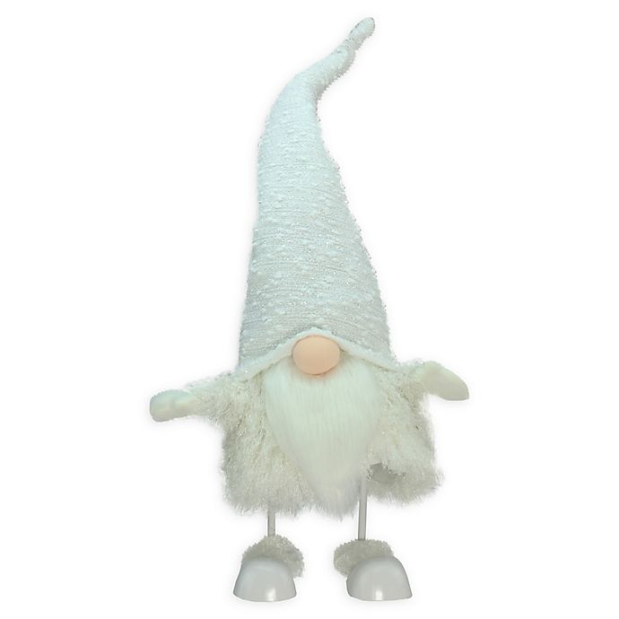 Alternate image 1 for 24-Inch Gnome Bobble Figure in White