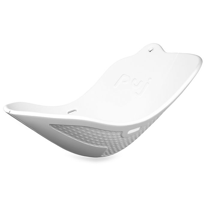 Alternate image 1 for Puj® Flyte™ Compact Infant Bath Tub in White