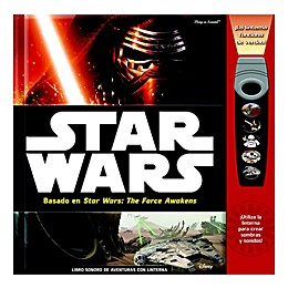 Star Wars™ The Force Awakens Flashlight Adventure Book (Spanish)