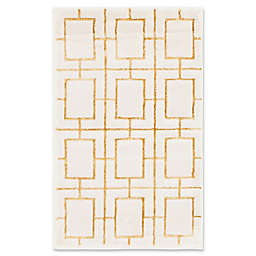 Marilyn Monroe® Deco Glam 2' x 3' Accent Rug in White/Gold