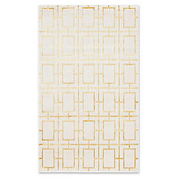 Marilyn Monroe® Deco Glam Rug in White/Gold