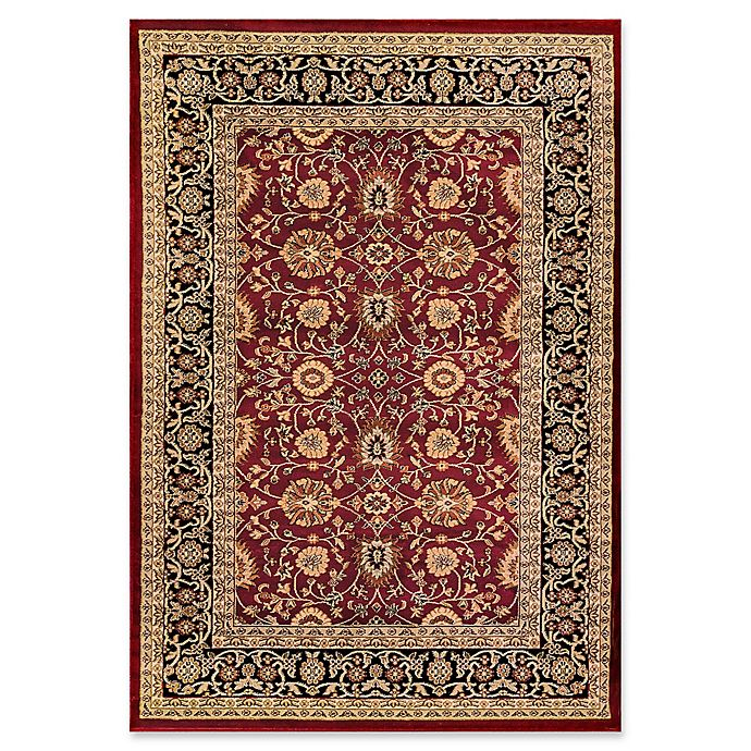 Alternate image 1 for Dynamic Rugs® Yazd Kashan 2' x 3'6 Area Rug in Red/Black