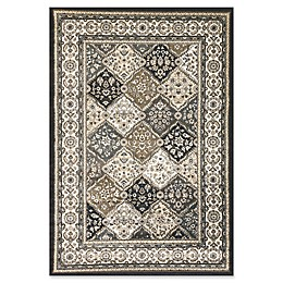 Dynamic Rugs® Yazd Panel Area Rug in Grey/Ivory
