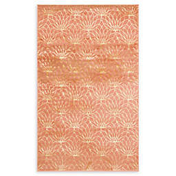 Marilyn Monroe® Dahlia Glam Floral Powerloomed Area Rug