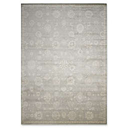 Nourison Luminance Machine Woven Area Rug in Ironstone