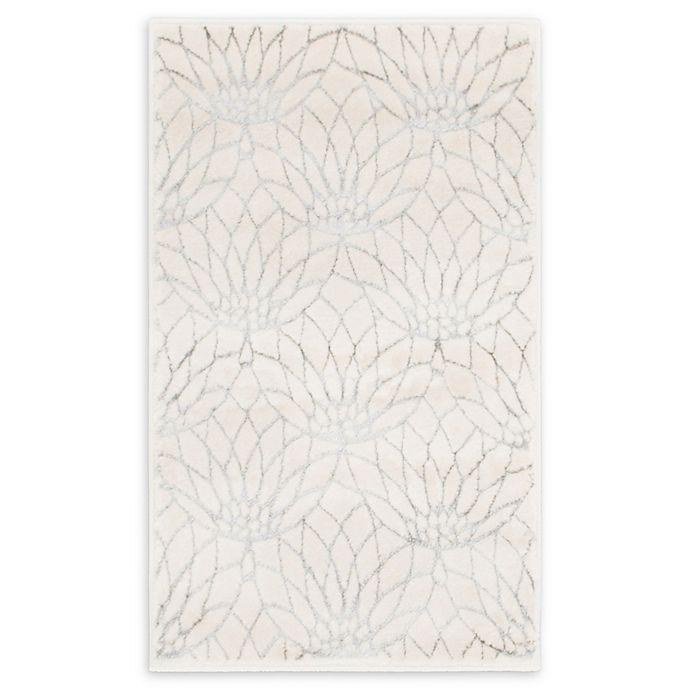 Alternate image 1 for Marilyn Monroe® Dahlia Glam White 2' X 3' Powerloomed Area Rug in White