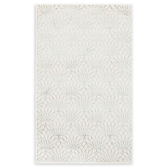 Alternate image 1 for Marilyn Monroe® Dahlia Glam Rug in White