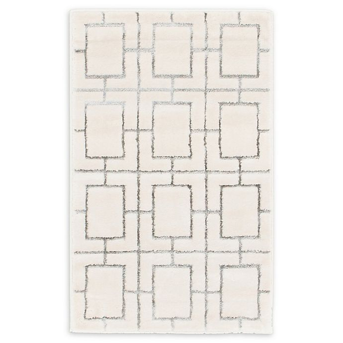 Alternate image 1 for Marilyn Monroe® Deco Glam White/silver 2' X 3' Powerloomed Area Rug in White/silver