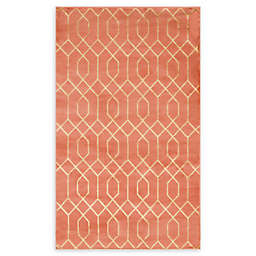 Marilyn Monroe® Trellis Glam Rug in Coral/Gold