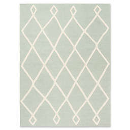 Safavieh Kids® Latice Rug in Mint