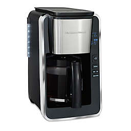 Hamilton Beach Reg Easy Access Deluxe 12 Cup Coffee Maker In Black