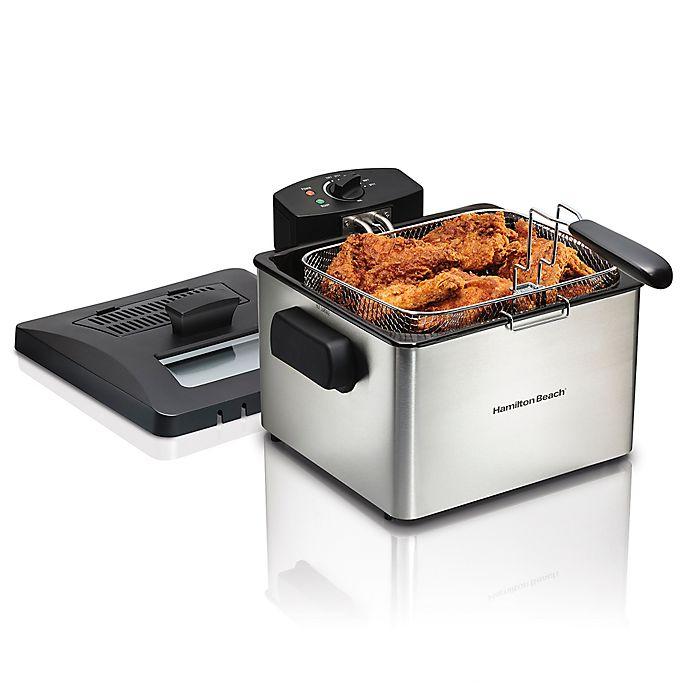 Alternate image 1 for Hamilton Beach® Professional-Style Deep Fryer