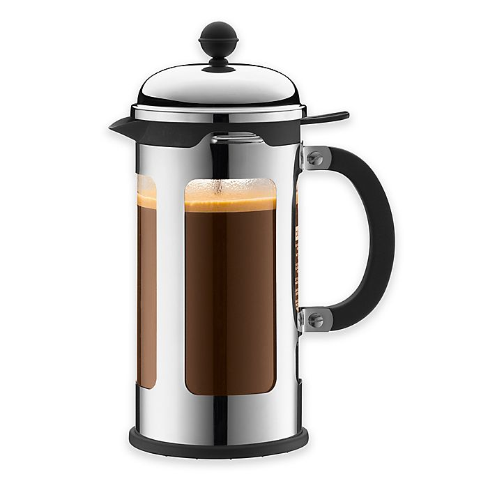 buy bodum chambord 34 oz french press in chrome from bed bath beyond. Black Bedroom Furniture Sets. Home Design Ideas
