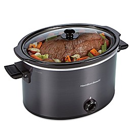 Hamilton Beach® 10 qt. Slow Cooker in Black