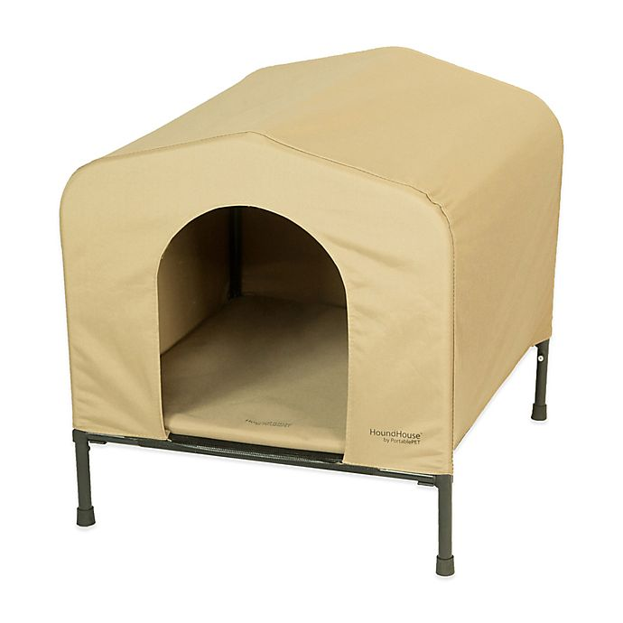 Alternate image 1 for PortablePET® Large Houndhouse Elevated Pet Kennel