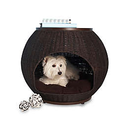 The Refined Canine™ Deluxe Indoor Igloo Pet Bed with Cushion