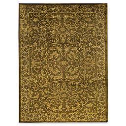 Bokara Rug Company® Bokara Himilayan 8'11 x 11'9 Hand-Knotted Area Rug in Gold