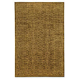 Bokara Rug Company® Himalayan 11'10 x 18'2 Hand-Knotted Area Rug in Gold
