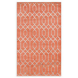 Marilyn Monroe® Trellis Glam Coral Powerloomed Runner