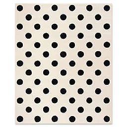 Safavieh Kids® Dots 8' x 10' Rug in Black