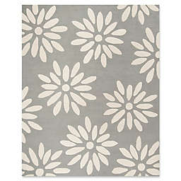 Safavieh Kids Daisy 8' x 10' Handcrafted Area Rug in Grey/Ivory