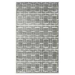 Marilyn Monroe® Deco Glam Powerloomed Rug in Grey/White