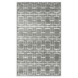 Marilyn Monroe® Deco Glam Powerloomed Rug in Grey/White