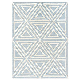 Safavieh Kids® Triangles Rug in Blue