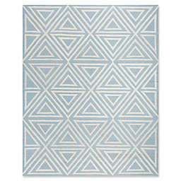Safavieh Kids® Triangles 8' x 10' Rug in Blue